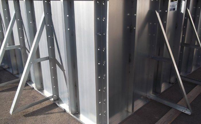 Piscine prefabbricate in acciaio
